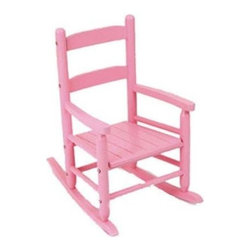 KidKraft - 2-Slat Rocker - Pink, Sturdy Construction by Kidkraft - Our 2-Slat Rocking Chair brings new life to the 2-slat design. If unsure about exactly which rocking chair you want to purchase, this classic design is a wise, safe decision.