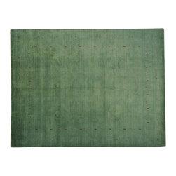 1800-Get-A-Rug - Teal Green Loom Gabbeh Hand Woven 100% Wool Oriental Rug Sh19192 - Teal Green Loom Gabbeh Hand Woven 100% Wool Oriental Rug Sh19192