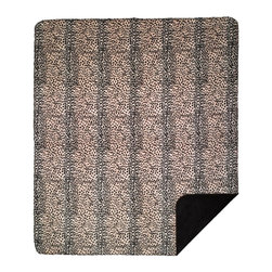 Throw Blanket Denali Leopard/Chocolate - Denali micro plush throws are considered the Cadillac of throws due to their rich colors and soft feel. These throws are softer and warmer than fleece.