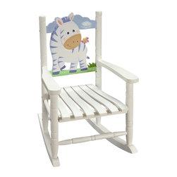 Teamson Design - Teamson Kids Rocking Chair Zebra - Teamson Design - Kids Rocking Chairs - W8340A.