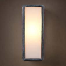 Union Filament Narrow Sconce Milk Glass | Wall | Restoration Hardware