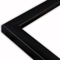 The Frame Guys - Simple Black Picture Frame-Solid Wood, 8x10 - *Simple Black Picture Frame-Solid Wood, 8x10
