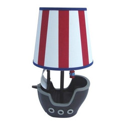 Circo Pirate Striped Table Lamp