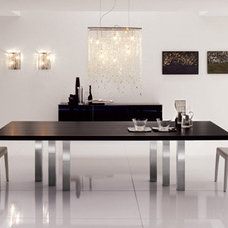 contemporary dining tables Black Table