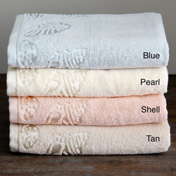 Lenox - Lenox Sea Side Cotton Terry Bath Towel (Set of 3) - The Lenox Sea Side bath towels will provide you with the ultimate and most luxurious drying experience. The Sea Side towels are made from premium cotton terry, which creates an extremely soft and absorbent towel.