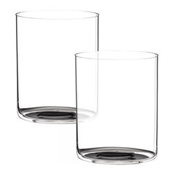 Riedel - Riedel O Whisky Glasses - Set of 2 - For those who prefer their Whiskey on the rocks, this stylish lightweight glass is the perfect solution. non lead, machine made.