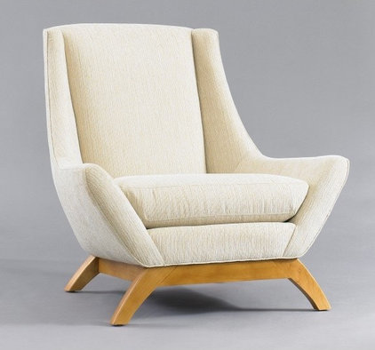 modern armchairs by DwellStudio