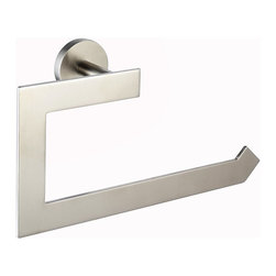 Kraus - Kraus Imperium Bathroom Accessories - Towel Ring Brushed Nickel - *Kraus offers an elite selection of bathroom accessories that are guaranteed to exceed industry trends and revolutionize your home into the modern marvel it is destined to be