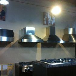 Rockville Showroom - Professional ventilation canopy & chimney styles
