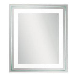 Kichler - Kichler 78201 1 Light Rectangular Mirror - Features:
