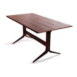 """Osidea - """"Y"""" Dining Table - Osidea - The full size Y Dining Table, designed by John Zheng has a restrained, modern look and is perfect for those looking for a sleek design. Seats 4-6 people."""