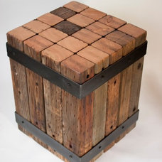 Rustic Side Tables And End Tables by Real Industrial Edge Furniture