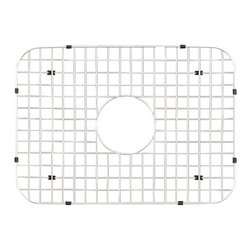 "Houzer - Houzer BG-2500 Bottom Grid 19.125"" x 13.75"" - Houzer kitchen accessory Stainless Steel Bottom Grid EHD-3118, LHD-3322, PNG-2300, ES-2408, MS-2309, STS-1300, ALL GLOWTONE Single BowlMODELS"