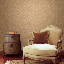 Texturall Brewster Wallpaper - Pattern number 19-87458. Available at AmericanBlinds.com.