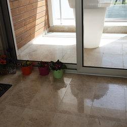12x24 Cappuchino Marble Floor Tiles Polished - 12x24 Cappuchino Marble Tiles