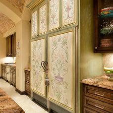 Refrigerators And Freezers by JAUREGUI Architecture Interiors Construction