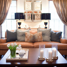 Traditional Living Room by Emerald Hill Interiors