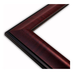 The Frame Guys - Wide Standard Mahogany Picture Frame-Solid Wood, 10x10 - *Wide Standard Mahogany Picture Frame-Solid Wood, 10x10