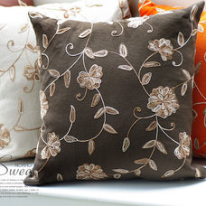 Contemporary Decorative Pillows by Steve Wong