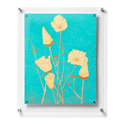 Wexel Art - Popster Plus Floating Acrylic Wall Frame 21x27 - NOTE: Photos not included