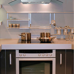 None - Curved Canopy 30-inch Wall-mounted Range Hood - Modernize your home with this stylish and elegant 30-inch curved-glass style wall-mounted hood range. This kitchen accessory combines elegant design with functional filtering.