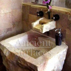 Contemporary Bathroom Sinks by Ancient Surfaces