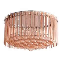 Cyan Design - Lois Three Light Flush Mount - Lois three light flush mount - blush