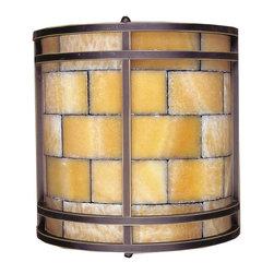 ELK Lighting - Two Light Dark Antique Brass Wall Light - Two Light Dark Antique Brass Wall Light