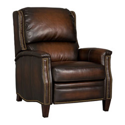 Hooker Furniture - Hooker Furniture Tacoma Yakima Recliner - Developed by one of America's premier manufacturers to offer quality furniture at affordable prices. The Tacoma Yakima Recliner is crafted using Tacoma Yakima (Dark Brown) bonded leather.