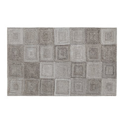 Dynamic Rugs - Dynamic Rugs Posh 8X11 7805-717 - Gorgeous in an industrial inspired loft or urban home, the Posh Collection is modern and on trend. Featuring a wide range of shades of gray and contemporary patterns and styles, these handmade rugs lend a bit of edge to any space. A dramatic backdrop, the Posh Collection is a high quality, fashion forward choice.