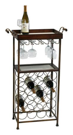 Cyan Design - Cyan Design Lighting 02793 New York Wine Stand - Cyan Design 02793 New York Wine Stand