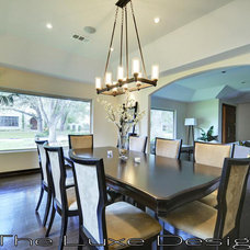 Modern Dining Room by The Luxe Designer