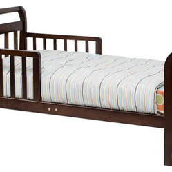 DaVinci Sleigh Toddler Bed in Espresso Finish