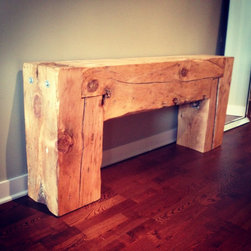 Reclaimed Console Table This Table Features Salvaged