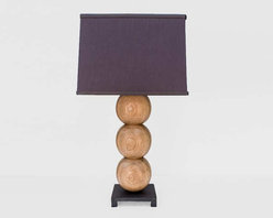 Oak Desk Lamp -