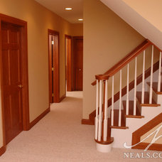 Traditional Basement by Design Builders & Remodeling Inc.