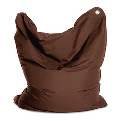 Sitting Bull USA - Sitting Bull The Bull Brown Bean Bag - This awesome large beanbag may be used as a chair, mat or small mattress. This unique seating solution is perfect for your child to have their own space.