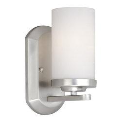 Vaxcel Lighting - Vaxcel Lighting OX-VLU001 Oxford 1 Light Bathroom Sconce - Features: