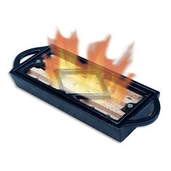 Blue Rhino - Uniflame Cast Iron Firestarter - Blue Rhino UniFlame Cast Iron Fire Starter - C-1137: This Uniflame cast iron fire starter is an ideal way to start a cozy fire in your fireplace. Simply add lighter fluid place it under your fireplace grate and light. The C-1137 fire starter can even light wet or green wood!