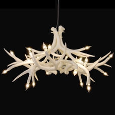 contemporary chandeliers by Lumens