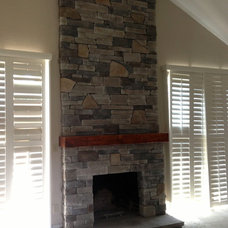 Traditional Fireplaces by Dan Farrace Fine Woodworking
