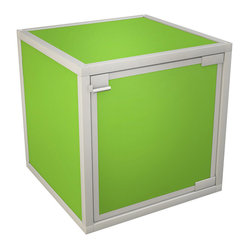 Box Storage Cube, Green