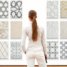 Contemporary Floor Tiles by Galeria Marble Mosaics