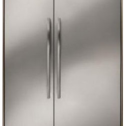 """Dacor - Discovery EF42NBSS 42"""" 25.3 cu. ft. Built-in Side-by-Side Refrigerator  Electron - Our Discovery 48 and 42 Built-In Refrigerators are the perfect fit for your luxury kitchen Now with even more advanced features like the Ingredient Care Center that ensures ultimate freshness taste and texture of your favorite cheeses fresh produce h..."""