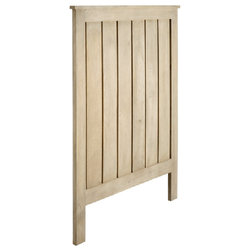 Candelabra Home - Candelabra Home Wood Shaker Headboard Twin - Wood Shaker Headboard Twin by Candelabra Home. Materials: Wood