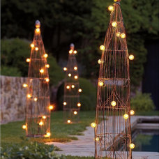 Eclectic Pergolas Arbors And Trellises by Pottery Barn