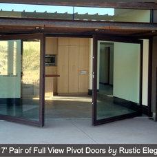 Modern Front Doors by Rustic Elegance