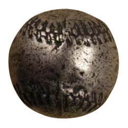 Anne at Home Hardware - Baseball Knob, Antique Bronze - Made in the USA - Anne at Home customized cabinet hardware enables even the most discriminating homeowner to achieve the look of their dreams.  Because Anne at Home cabinet hardware is designed to meet your preferences, it may take up to 3-4 weeks to arrive at your door. But don't let that stop you - having customized Anne at Home cabinet knobs and pulls are well worth the wait!   - Available in many finishes.