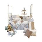 Glenna Jean - Preston Crib Bedding Set 3-Piece Set - The Preston Crib Bedding Set by Glenna Jean is available as a 3-Piece, 4-Piece, or 5-piece set.
