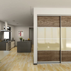 Contemporary Interior Doors by Mayor of Hardware